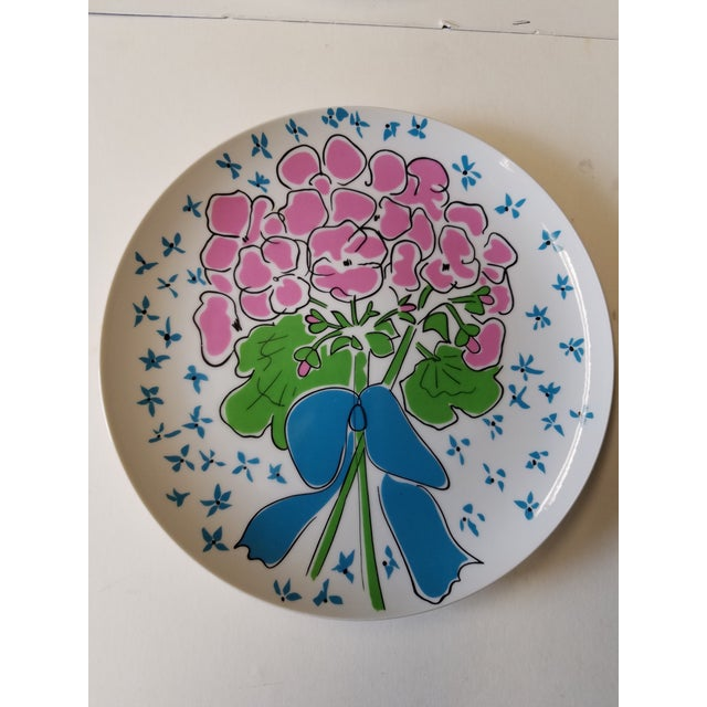 1970s Gloria Vanderbilt Dinner Plates - Set of 6 - Image 2 of 5