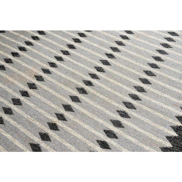 Vintage Swedish Flat-Weave Carpet - Image 5 of 7