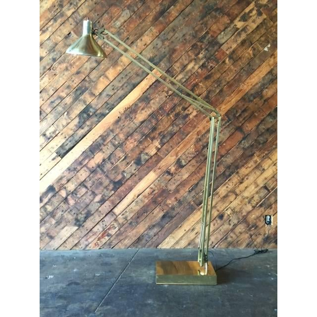 Vintage Oversize Architect's Task Lamp - Image 2 of 6