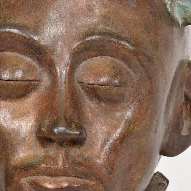 Brutalist Surrealist Bronze Sculpture, Mexico, 1960s For Sale - Image 3 of 13