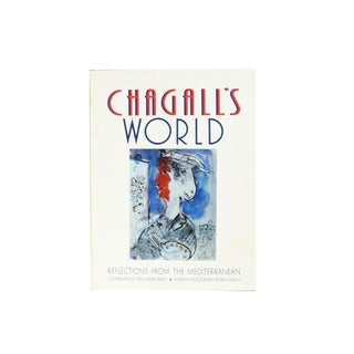 """1984 """"Chagall's World: Reflections From the Mediterranean"""" Book For Sale"""