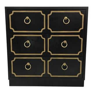 1980s Hollywood Regency Dorothy Draper Style Chest For Sale