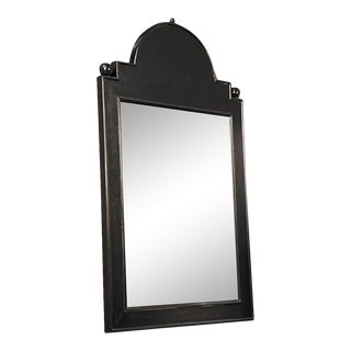 Noir Jess Mirror in Hand Rubbed Black For Sale