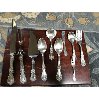 1950s Reed and Barton Burgundy Sterling Set - Set of 83 Preview