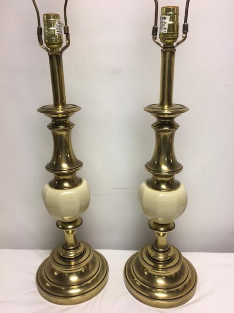 Vintage Stiffel Hollywood Regency Lamps   A Pair   Image 8 Of 8