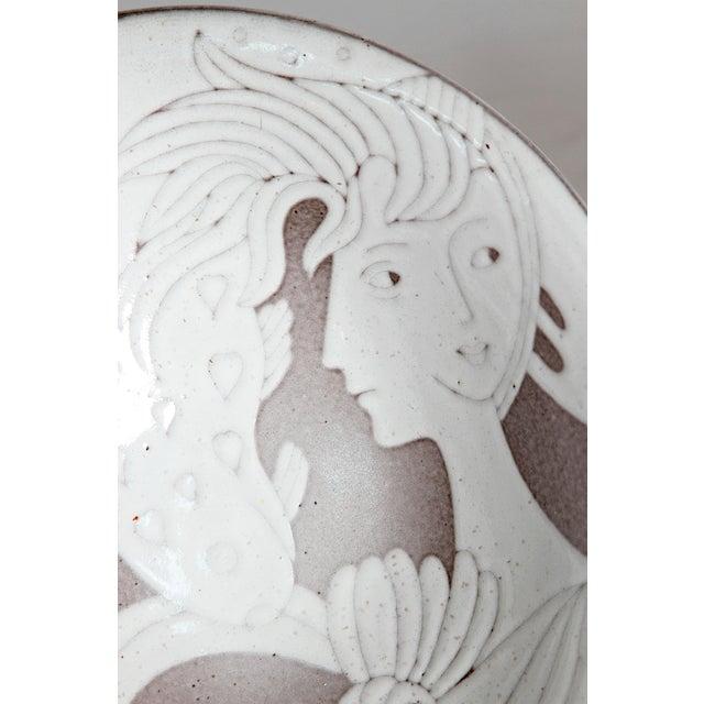Midcentury Bowl by Upsala-Ekeby - Image 10 of 11