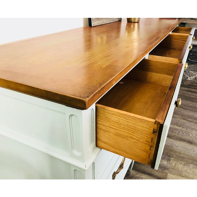 Vintage Thomasville Sideboard For Sale - Image 9 of 12