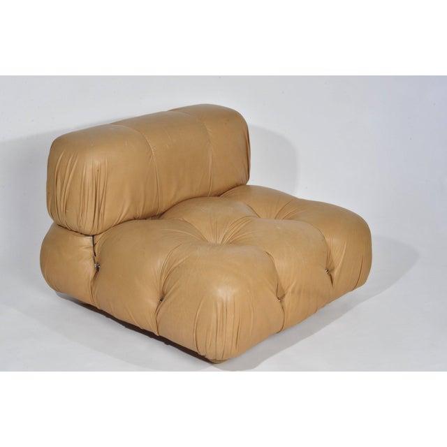 Mario Bellini 'Camaleonda' Chair and Ottoman, 1970s For Sale In Detroit - Image 6 of 12
