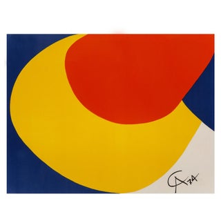 """1974 Original """"Convection""""Limited Edition Print Lithograph by Alexander Calder For Sale"""