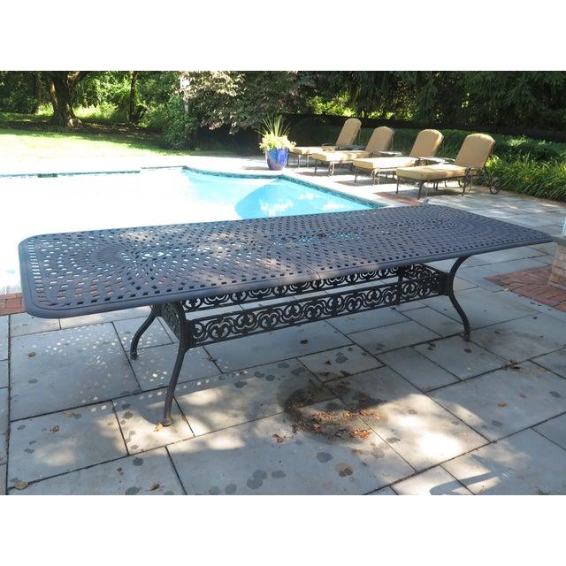 Pleasant Darlee Cast Aluminum Table Chair Patio Set Set Of 11 Home Interior And Landscaping Spoatsignezvosmurscom