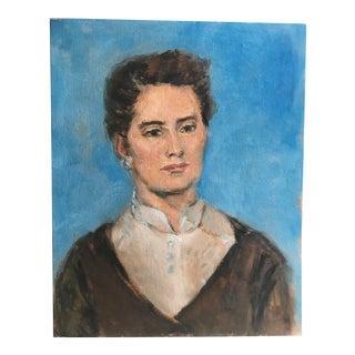Original Mid-Century Portrait of a Woman