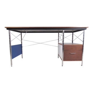 Mid-Century Modern Style Writing Desk After Charles Eames For Sale