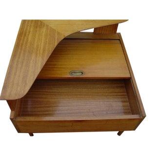 John Keal Brown Saltman Boomerang Occasional Corner Table For Sale