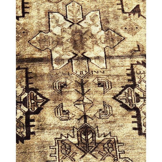 1950's Vintage Persian Hamadan Rug- 3′6″ × 9′9″ For Sale - Image 4 of 13