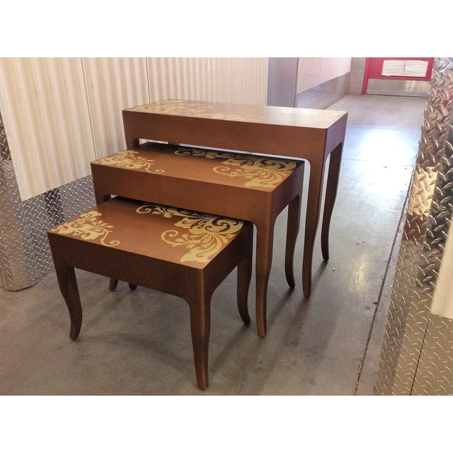 Contemporary Nesting Tables - Set of 3 - Image 5 of 8