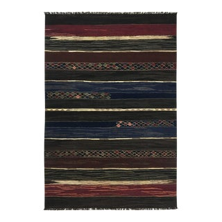 Rug & Relic Vegetal Dye Handwoven Kilim | 6'7 X 9'10 For Sale