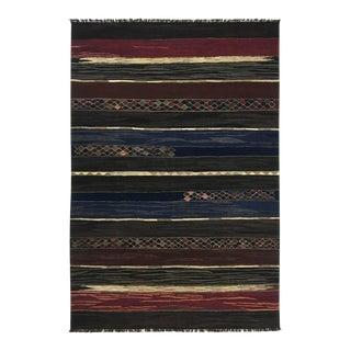 Rug & Relic Vegetal Dye Handwoven Kilim | 6'7 X 9'10