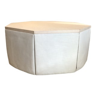 Chaddock Skirted Coffee Table For Sale