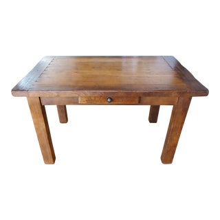 A B C Farmhouse Dining Table