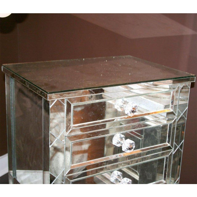 2000 - 2009 Single Custom X-Front Design Commode For Sale - Image 5 of 8