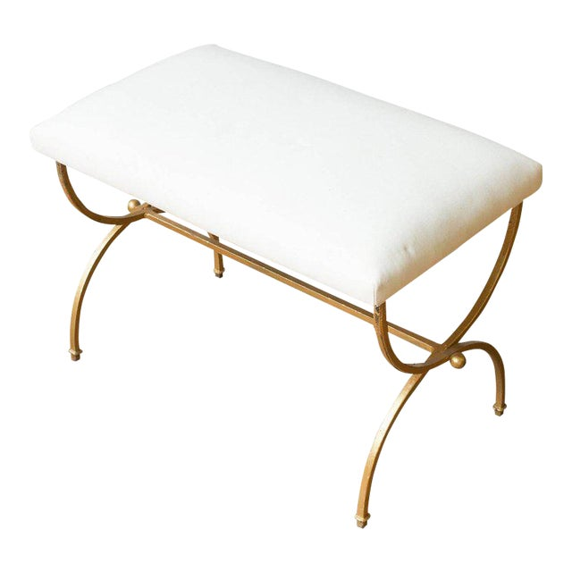 Gilt Iron Bench - Image 1 of 8
