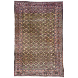 20th Century Turkish Sivas Rug - 6′6″ × 9′10″ For Sale