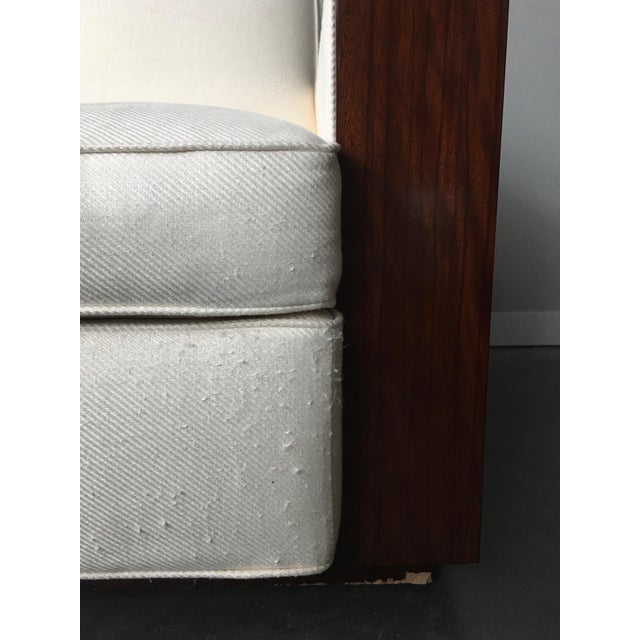 Contemporary Art Deco Ralph Lauren Metropolis Collection Rosewood Club Chair by Herendron For Sale In Seattle - Image 6 of 13