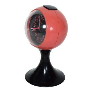 Mid Century Modern Westclox Tulip Table Clock For Sale