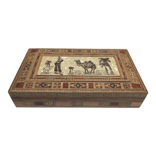 Middle Eastern Syrian Decorative Box For Sale