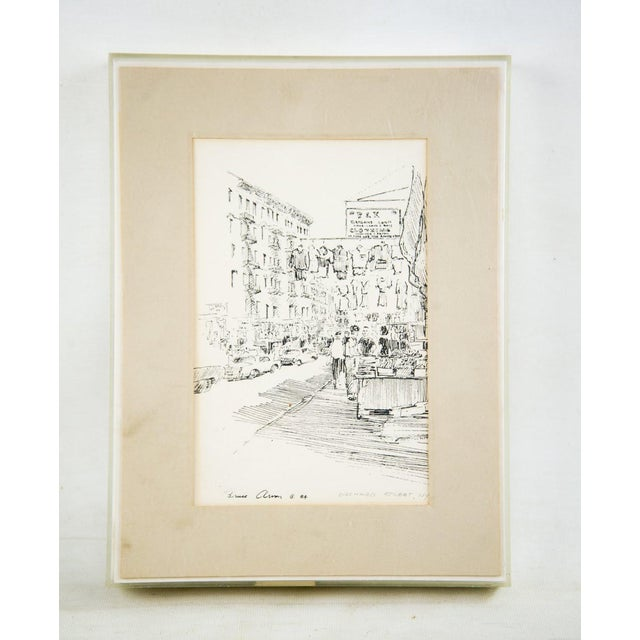 Bruce Armon New York Ink Sketch Prints - Set of 7 For Sale In Atlanta - Image 6 of 13