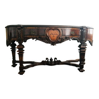 1920s Antique West End Furniture Co Jacobean Sideboard/Buffet For Sale