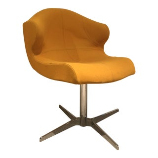 Early 21st Century Vintage Swivel Desk Chair For Sale