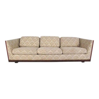 Mid-Century Sofa in the Style Milo Baughman For Sale