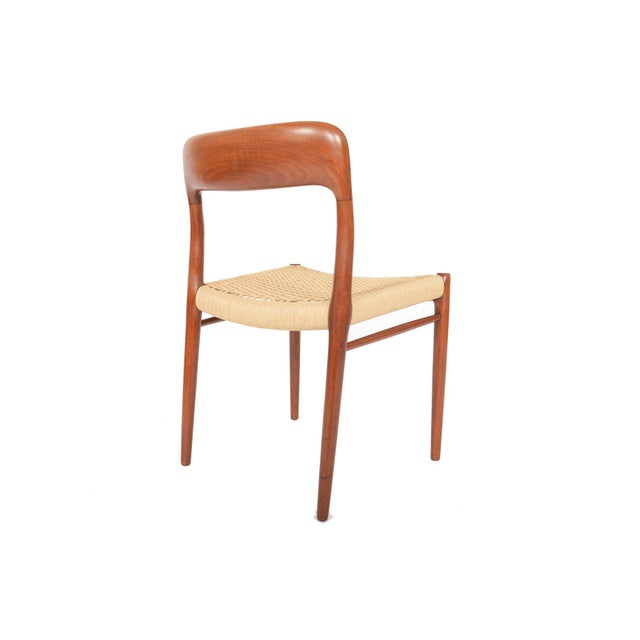 Møller Model 75 Teak Dining Chairs - Set of 6 - Image 2 of 10
