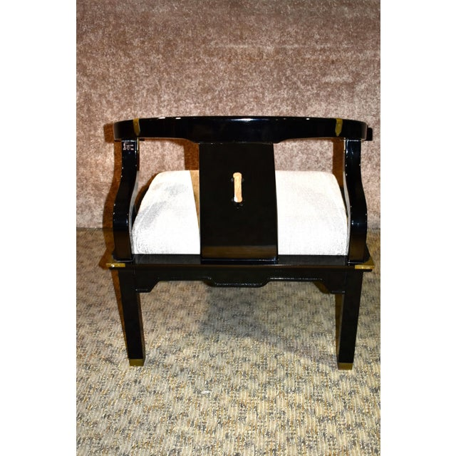 1980s Pallavisini Asian Style Italian Chair For Sale - Image 4 of 12
