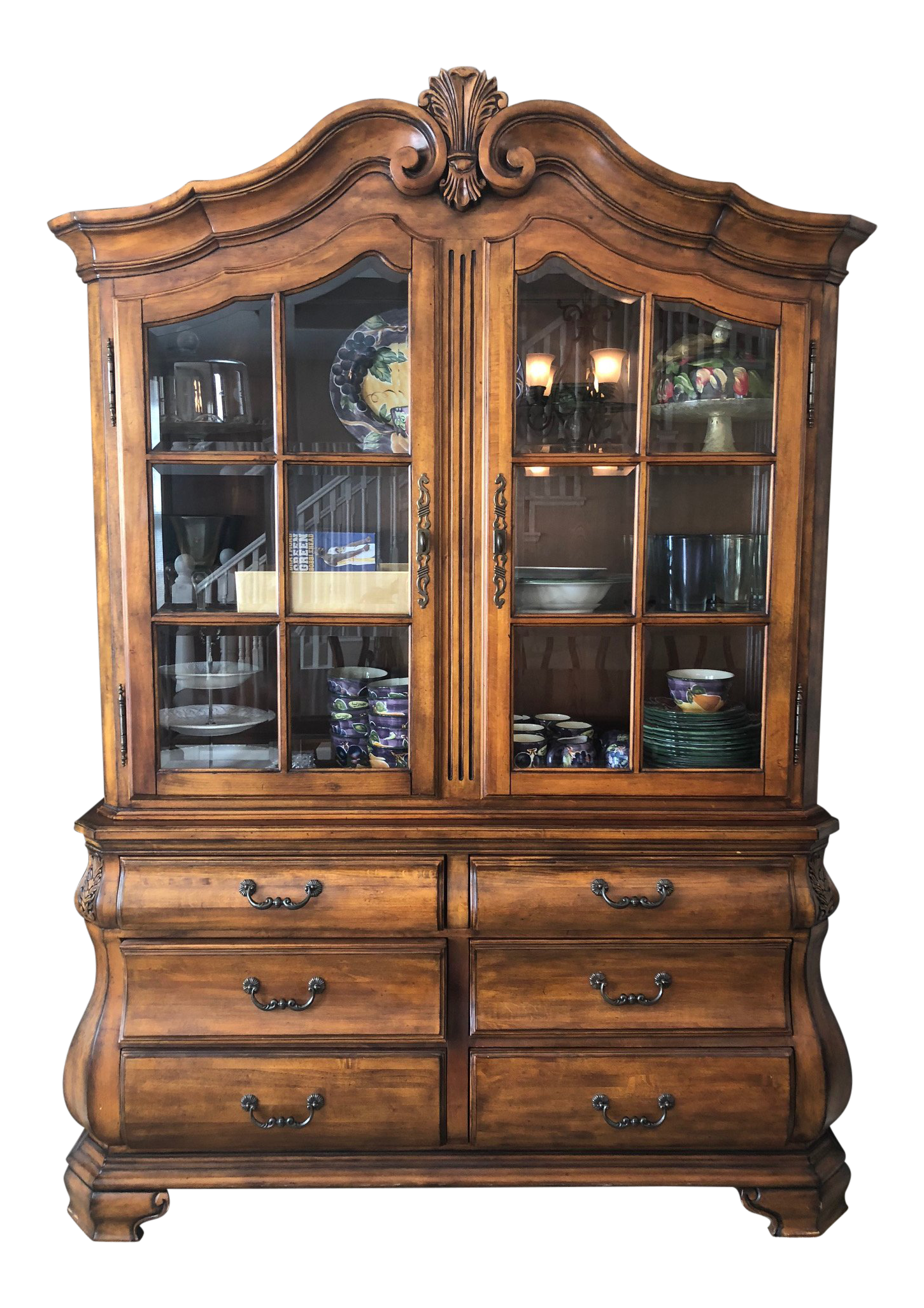 1920 S Antique China Cabinet Glass Doors 3d House Drawing