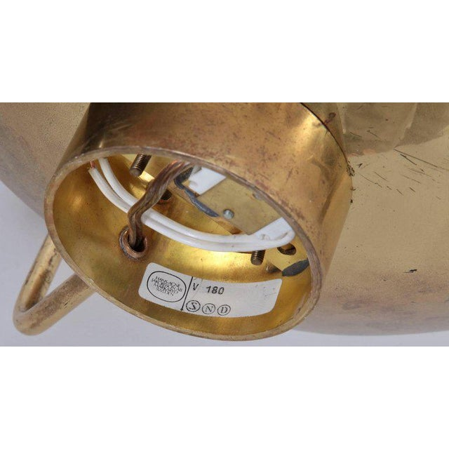 Pair of Hans-Agne Jakobsson Wall Lamps in Brass For Sale - Image 6 of 7