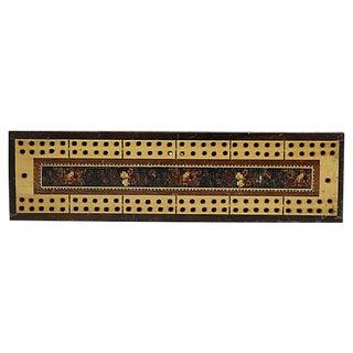 Antique Tunbridgeware Inlaid Game Board For Sale