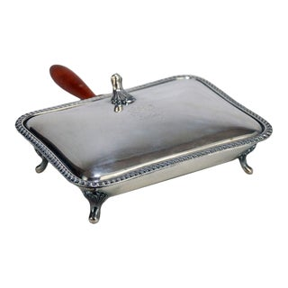 Sterling Silver Silent Butler by Poole Silver Company For Sale