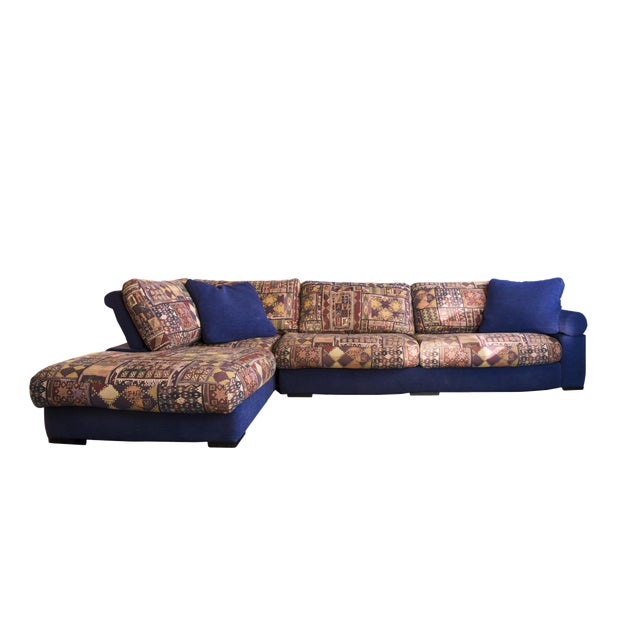 Roche Bobois Vintage Sectional Sofa - Image 1 of 6