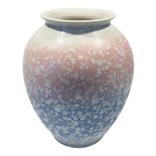 West German Scheurich Mid Century Pottery Vase For Sale