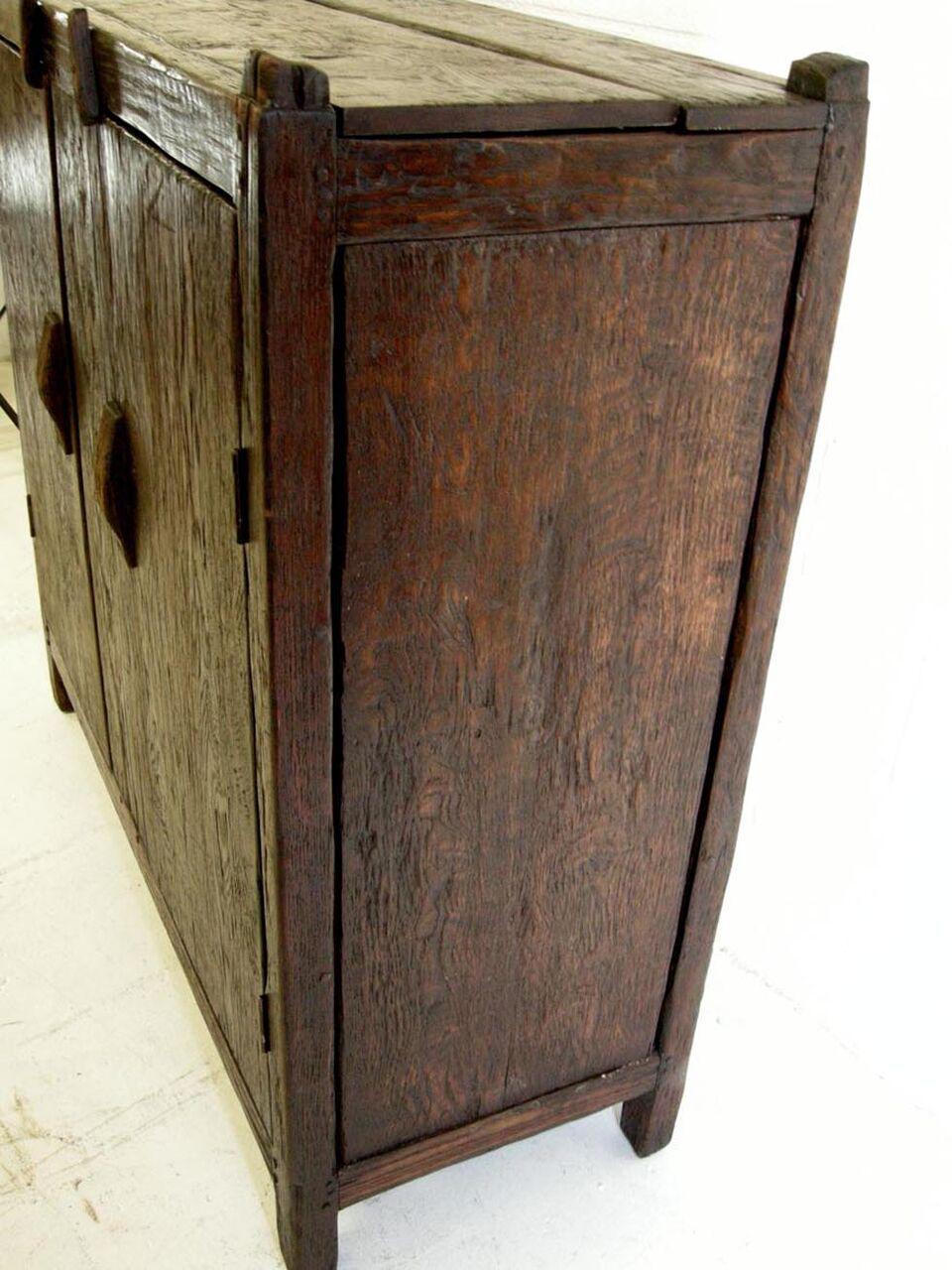 rustic spanish style furniture. Custom Rustic Spanish Style Oak Wood Cabinet - Image 7 Of 8 Furniture T