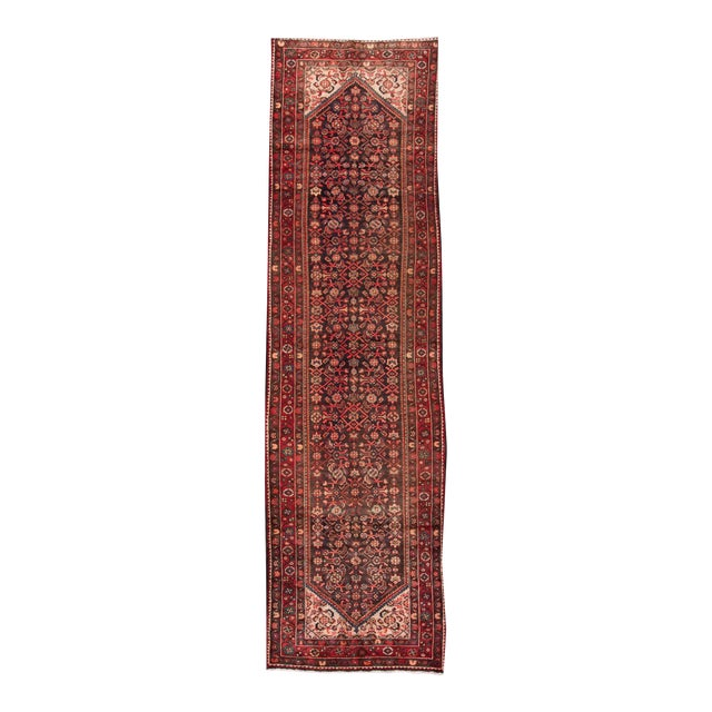"Apadana - Vintage Persian Rug, 3'8"" x 13'2"" For Sale"