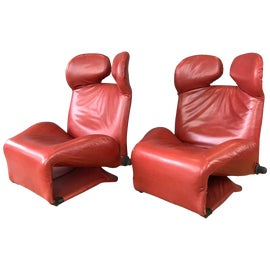 Image of Cassina Lounge Chairs