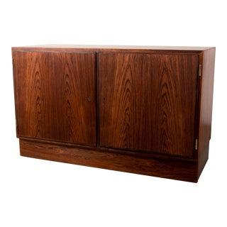 1950s Scandinavian Modern Arne Vodder Rosewood Credenza For Sale
