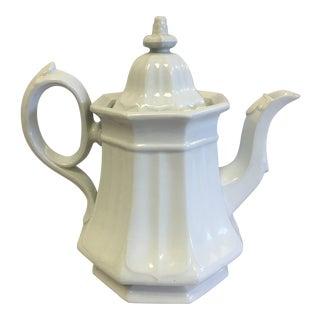 Vintage Iron Stone Tea Pot