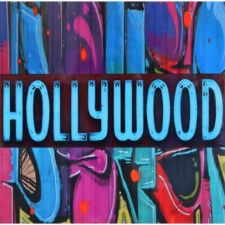"Original Photography and Resin Artwork by Nicola Katsikis ""Still in Hollywood"" For Sale"