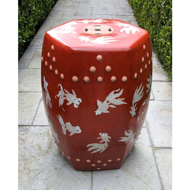 Tremendous Modern Ceramic Asian Garden Stool Theyellowbook Wood Chair Design Ideas Theyellowbookinfo