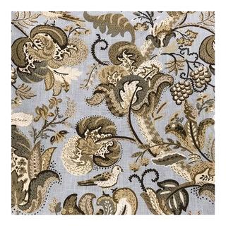 Schumacher Clarendon Mineral Linen Fabric - 12 Yards For Sale