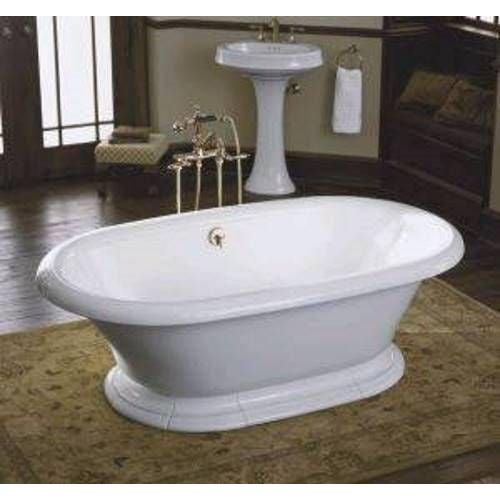 Kohler Vintage Cast Iron Freestanding Bathtub For Sale - Image 5 of 6